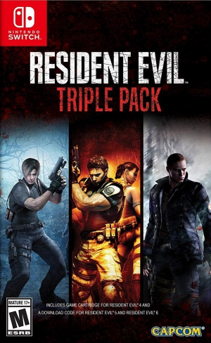 [Pre-order] Resident Evil Triple Pack (Switch)