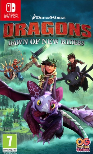 Dreamworks Dragons: Dawn of New Riders (Switch)