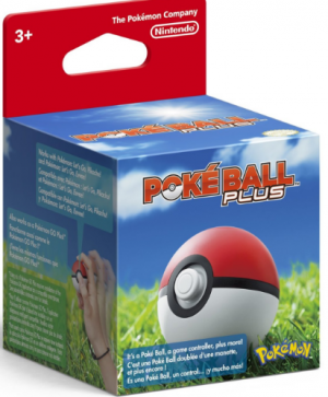 [Pre-order] Nintendo Pokeball Plus (Includes USB Charging Cable)