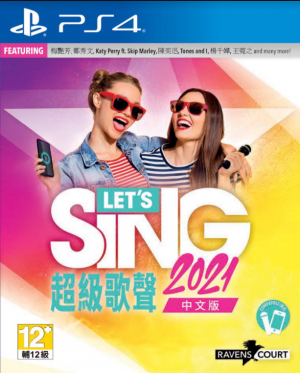 [Pre-order] Lets Sing 2021 with One Microphone (PS4)