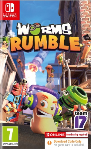 [Pre-order] Worms Rumble  - Code in Box (Switch)