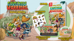 [Pre-order] Caveman Warriors Deluxe Edition (Switch)
