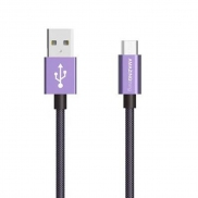 AMAZINGthing SupremeLink Charge & Sync Micro Usb Cable 1m (Violet)