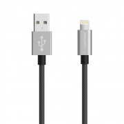 AMAZINGthing SupremeLink Lightning Power Max Cable MFI 1m (Silver)