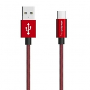 AMAZINGthing SupremeLink Charge & Sync 3.1 USB-C to USB-A CABLE 1m (Red)