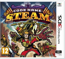 Code Name S.T.E.A.M - Strike Team Eliminating the Alien Menace (3DS)