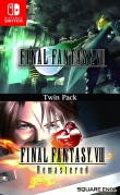 [Pre-order] Final Fantasy VII & Final Fantasy VIII Remastered Twin Pack (Switch)