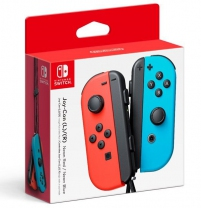 Joy-Con Controllers (Neon Red/Blue)