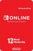 Nintendo Switch Online US 12 Month Subscription