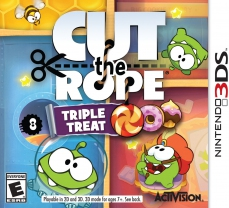 Cut The Rope: Triple Treat (3DS)