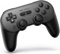 8BitDo SN30 Pro+ Bluetooth Gamepad (Black Edition)