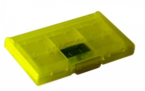 Nintendo Switch Game Card Case 12 + 2 (Yellow)
