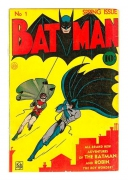 BAT MAN, FIRST COMIC CMX-007.