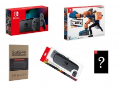 New Nintendo Switch (Gray) Bundle