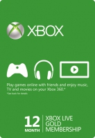 Xbox Live 12 Months Gold Membership - Global (Digital)