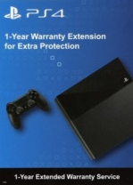 PS4 1 Year Warranty Extension