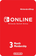 Nintendo Switch Online US 3 Month Subscription
