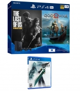 PlayStation 4 Pro 1TB God of War & The Last of Us Remastered Bundle with Final Fantasy VII Remake