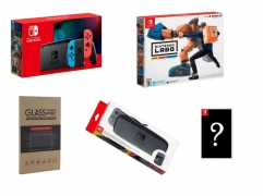 New Nintendo Switch (Neon) Bundle