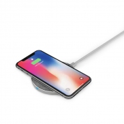 AMAZINGthing SupremeCharge Wireless Quick Charger (Silver)