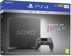 "PlayStation 4 Slim 1TB ""Days of Play"" Limited Edition"