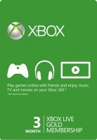 Xbox Live 3 Months Gold Membership - Global (Digital)